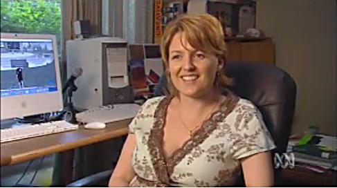 Christy Dena on ABC TV